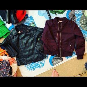 NWT Girl's YOKI and H&M Coat Jacket Lot Medium